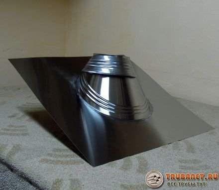 Фото – приспособление для вывода вентиляции на скатной крыше