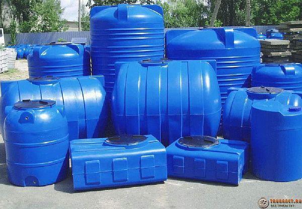 Фото – сосуды для канализации в частном доме