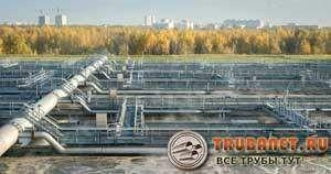 Фото – аэротенк – емкость для биологической обработки сточных вод