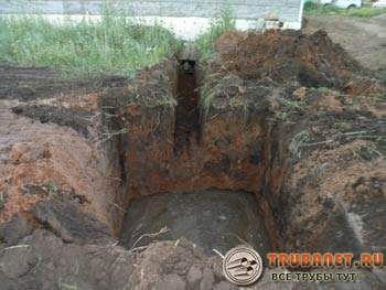 Фото – нередки случаи проникания воды в котлован