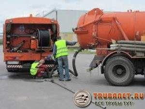 Фото – очищения городской канализации работающие на бензиновом топливе