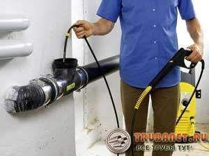 очистка с помощью автомобильной мини мойки высокого давления