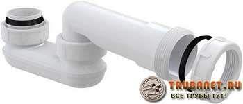 Фото – пластиковый сифон для канализации