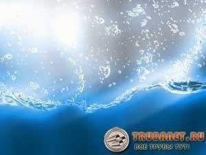 Фото – вода после качественной очистки биоматериалами