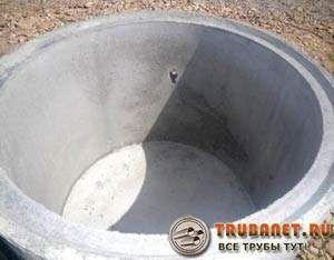 Фото – жб кольцо оснащенная готовым дном