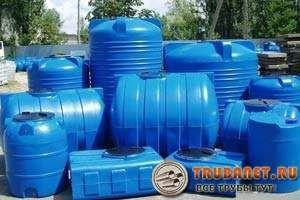Фото – герметичные резервуары