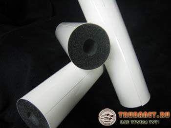 Фото – материал для утепления труб, чтобы избавиться от влаги