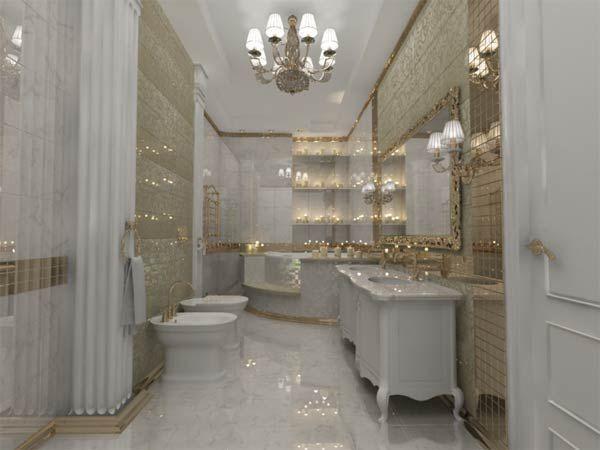 Фото – классическая ванная