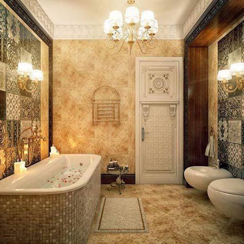 Фото – классический стиль туалета
