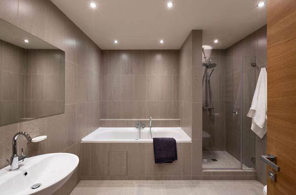 Фото – дизайн большой ванной комнаты