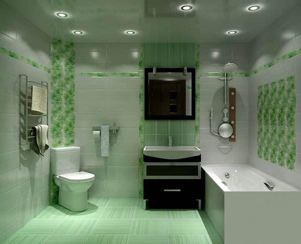 Фото – оформление совмещенной туалетной комнаты
