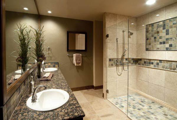 Фото – ванная комната с душевой