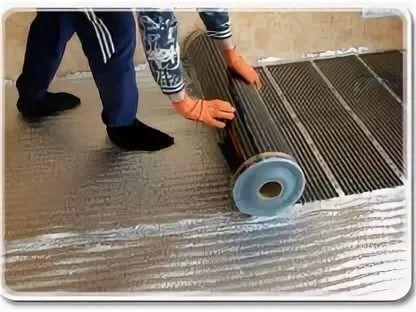 Тёплый пол под ламинат на бетонный пол – инструкция к монтажу