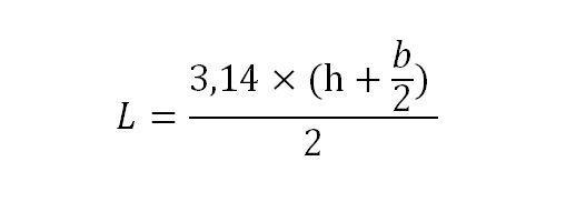 Фото формулы для расчета длины труб