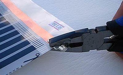 Фото -  закрепление контактного зажима