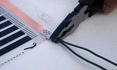Фото -  зажимаем провода