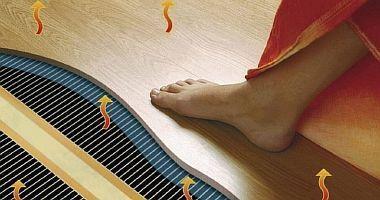 Фото — Инфракрасный плёночный пол под ламинат