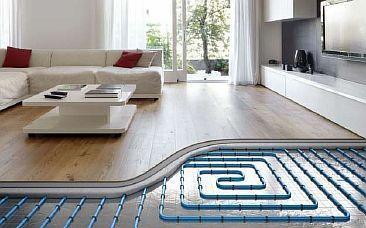 Фото — Электрический тёплый пол под паркет