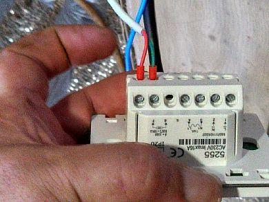 Фото - Подключение терморегулятора