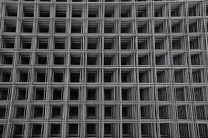 Фото — Металлическая армирующая сетка