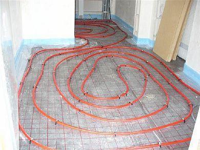 Фото — Монтаж греющего кабеля