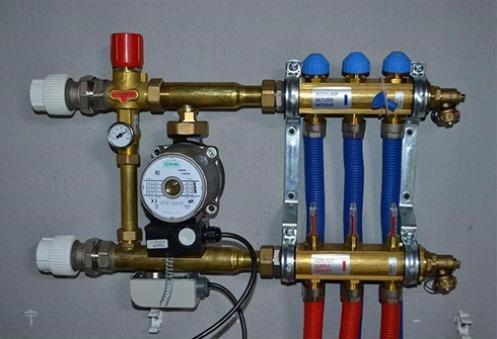 Подключение труб