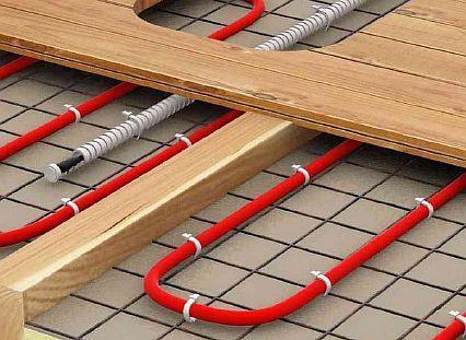 Фото — Электрические полы на деревянные перекрытия
