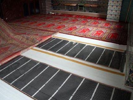 Фото — Инфракрасный пол под ковёр