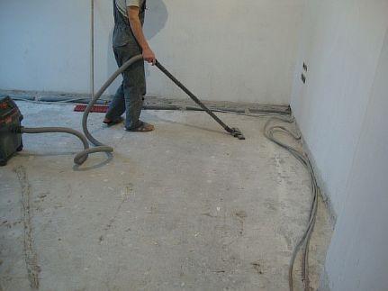 Фото — Подготовка основания для укладки утеплителя под тёплый водяной пол