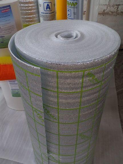 Фото — Вспененный полиэтилен с фольгированным слоем