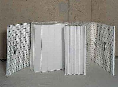 Фото — Пенополистирольные маты в форме панелей и плит