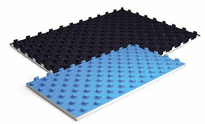 Фото — Теплоизоляционные маты с бобышками