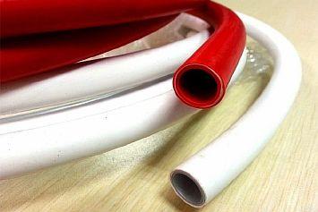 Фото — Трубы из сшитого полиэтилена для тёплого пола