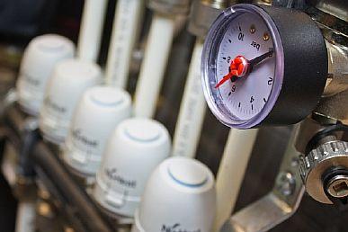 Фото — Опрессовка теплого водяного пола