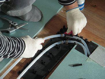 Фото — Подсоединение обратного шланга