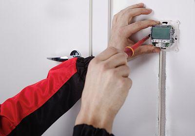 Фото — Демонтаж терморегулятора