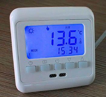 Фото — Программируемый терморегулятор