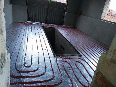 Фото — Укладка трубопровода
