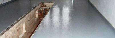 Фото — Заливка инфракрасного пола в гараже