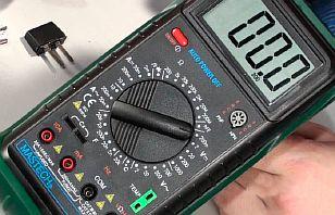 Фото — Проверка проводов мультиметром