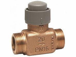 Фото — Двухходовой термостатический клапан