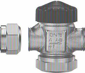 Фото — Трёхходовой термостатический клапан