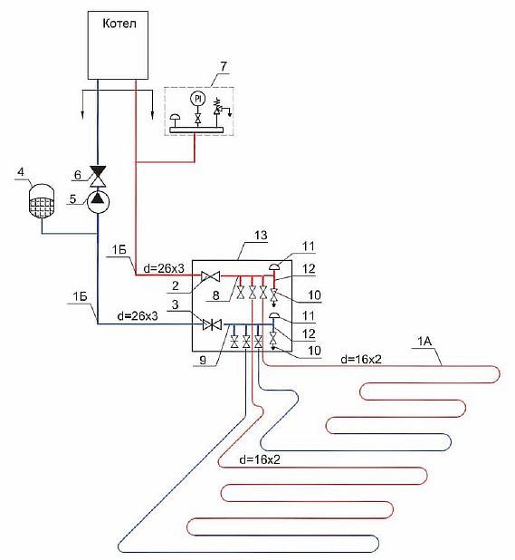 Фото — Схема прямого подключения