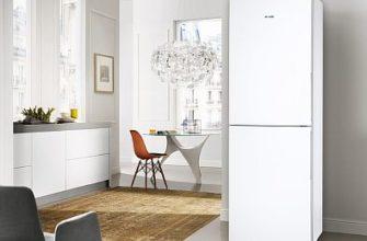 Фото — Холодильник на тёплом полу