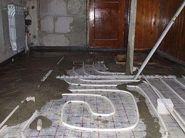Фото — Тёплый водяной пол в квартире