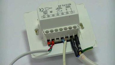 Фото — Подсоединяем провода