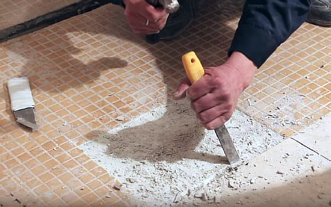 Фото — Удаляем бетонную стяжку