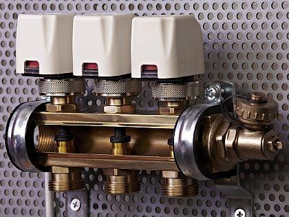 Фото - Схема установки сервоприводов на коллекторную консоль