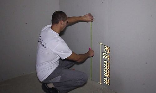 Фото - выбор места для терморегулятора