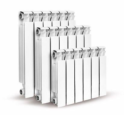 Фото - Алюминиевый радиатор с конвекционными «ушками»